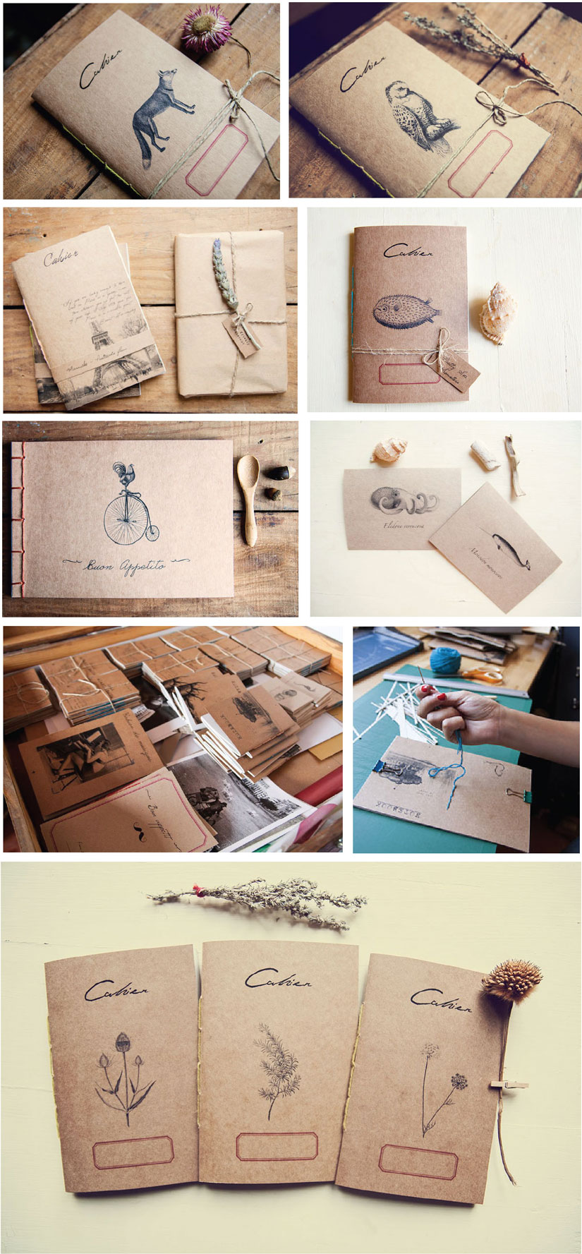 Manuche-Postcards